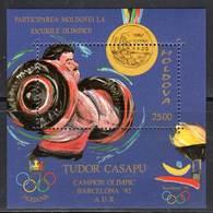 MOLDAVIE - BLOC N° 2 **  (1992) J.O BARCELONE - Moldavie
