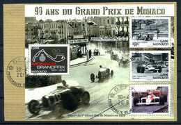 """MONACO . Série """" Grand Prix De Monaco """" Du 1er Semestre 2019 Oblitérée   (2699) - Unclassified"""