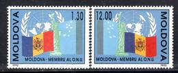 MOLDAVIE - N° 27/28 **  (1992) ONU - Moldavie