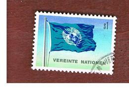 ONU (UNITED NATIONS) VIENNA _ SG WN2  - 1979 FLAG   - USED - Oblitérés