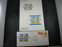 """BELG.1960  E78/80 *& FDC *"""" Olympia Roma """" - Erinnophilie"""