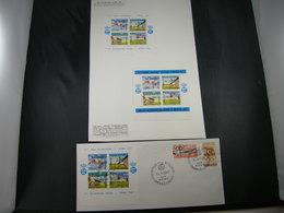 "BELG.1960  E78/80 *& FDC *"" Olympia Roma "" - Commemorative Labels"