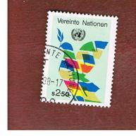 ONU (UNITED NATIONS) VIENNA - SG WN3  - 1980    PEACE BIRD   - USED - Oblitérés