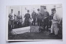 Carte-photo RABAT  Père Cent  1927    Groupe De Soldats - Régiments