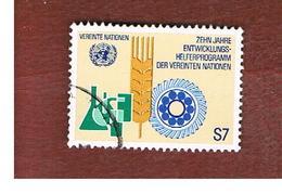 ONU (UNITED NATIONS) VIENNA - SG WN23  - 1981 DEVELOPMENT PROGRAMM   - USED - Oblitérés