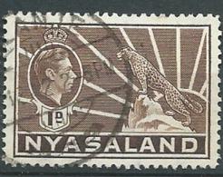 Nyassaland     -    Yvert N° 60  Oblitéré  -  Bce 18607 - Nyasaland (1907-1953)