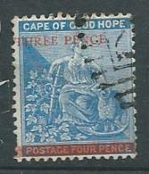 Cap De Bonne Espérance     -    Yvert N° 23 Oblitéré  -  Bce 18611 - Capo Di Buona Speranza (1853-1904)