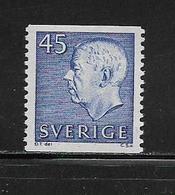 SUEDE  ( EUSU - 72 ) 1967  N° YVERT ET TELLIER  N° 567   N** - Schweden