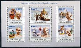 MOZAMBIK 2009 M0103 Mohandas Karamchand Gandhi, 1869-1948 - Hinduism