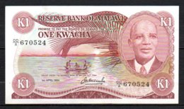 329-Malawi Billet De 1 Kwachz 1984 DDA670 - Malawi
