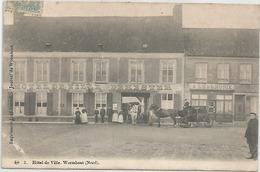 WORMHOUT WORMHOUDT HOTEL DE VILLE  DEHESTER  . A L HARMONIE - Wormhout