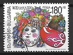 BULGARIE    -    1999.   Y&T N° 3814 Oblitéré.    Oeufs De Pâques - Gebraucht
