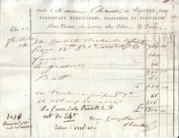 PARIS - ORFEVRERIE , JOAILLERIE  , JOAILLERIE ET BIJOUTERIE , RUE VIVIENNE - BERTHE L' AINE - 1804 - Frankreich