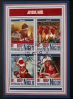 N° 4331 à 4334       Noël 2017  -  Oblitérés - Niger (1960-...)