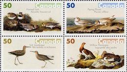 Canada - 2005 - Audubon Birds - Mint Stamp Set (se-tenant Block) - 1952-.... Règne D'Elizabeth II