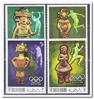 Ra's Al-Chaima 1968, Postfris MNH, Olympic Summer Games - Ra's Al-Chaima
