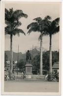 Carte Photo ILE MAURICE C. 1910 - Port-Louis Monument Statue - 03 - Mauritius