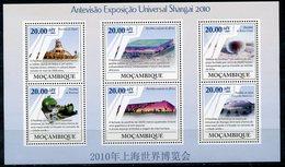 MOZAMBIK 2009 M0108 Universal Exhibition Shanghai, 2010. Architecture - 2010 – Shanghai (China)