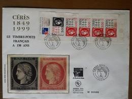 Cent Cinquante Ans Du Timbre Poste Français - Cérès - FDC Paris 1849-1999 - 1990-1999