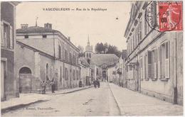 55 - VAUCOULEURS - Rue De La République - 1908 - France