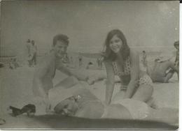 Small Photo - Eforie 1968 - Romania - Swimsuit - Costume Da Bagno - Pin-Ups