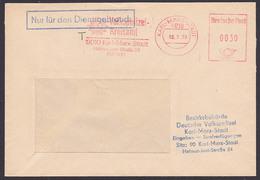 """Karl-Marx-Stadt ZKD-AFS Volkspolizei-Kreisamt """"Nur Für Den Dienstgebrauch T"""" 13.7.78, Strafverfügungen - [6] República Democrática"""