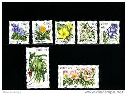 IRELAND/EIRE - 2004  WILD FLOWERS  SET  FINE USED - 1949-... Repubblica D'Irlanda