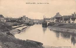 ISIGNY SUR MER - Les Quais Et Le Pont - France
