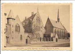 CPA  -  Belgique  -   SOIGNIES  -  Collège Episcopal St-Vincent, Chaussée De BRAINE - Soignies