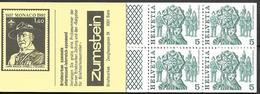 1984 Schweiz Mi. MH 78 E   **MNH Deckelvariante  I Deckel Gelb, Volksbräuche - Carnets