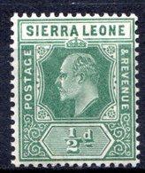 SIERRA LEONE - (Colonie Britannique) - 1907-11 - N° 75 Et 77 - (Lot De 2 Valeurs Différentes) - (Edouard VII) - Sierra Leone (...-1960)