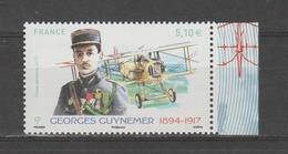 FRANCE / 2017 / Y&T PA N° 81a ** : Georges Guynemer (de Feuillet) BdF D - Gomme D'origine Intacte - 1960-.... Mint/hinged