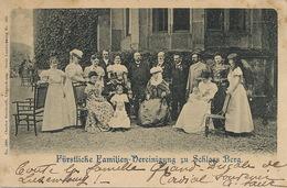 Furstliche Familien Vereinigung Zu Schloss Berg Edit Bernhoeft . O. Used Algringen . Pli Coin Sup. Droit Vers La Rodde - Grand-Ducal Family