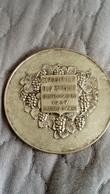 MEDAILLE EXPOSITION DES RAISINS SEPTEMBRE 1937 CAGNES SUR MER - Brons
