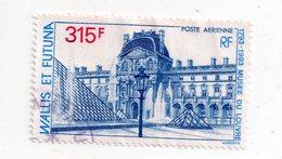Env 1 : Wallis Et Futuna Timbre Oblitéré Musée Du Louvre - Wallis-Et-Futuna