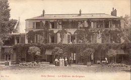 D94  ORLY   Le Château De Grignon  ........  Adressé à Famille Prince Russe GALITZINEen Exil - Orly