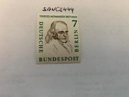 Berlin Famous T. Mommsen Historian Mnh 1957 - [5] Berlin