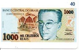 Télécarte Brésil   - Billet Monnaie Money Pièce Numismatique Bank Banque  Phonecard  (G 715) - Stamps & Coins