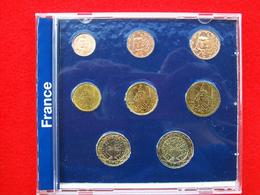 SERIE 8 MONETE FRANCIA EURO DEL 1999 2001 2002 - France
