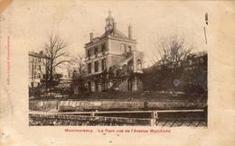 D95  MONTMORENÇY  La Gare Vue De L'Avenue Marchand  ...adressé à Famille Prince Russe GALITZINEen Exil - Montmorency