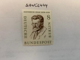 Berlin Famous H. Zille Illustrator Mnh 1957 - [5] Berlin