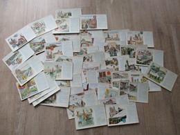 LOT DE 64 CPA REGIONS PUBLICITE LES PASTILLES VALDA - Publicité