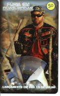 Télécarte Brésil  Moto Motor Bike Phonecard  Film Movie DVD Série Furia (G 719) - Motorbikes
