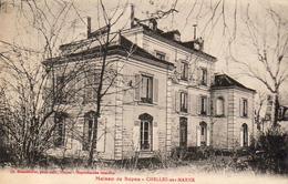 D77  CHELLES SUR MARNE  Maison De Repos ...........   Adressé à Famille Prince Russe GALITZINEen Exil - Chelles