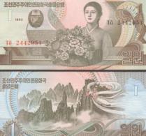 Korea (North) #39, 1 Won, 1992, UNC / NEUF - Korea, North