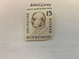 Berlin Famous F. Haber Chemist Mnh 1957 - [5] Berlin
