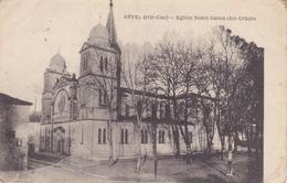 CPA REVEL Eglise Notre Dame Des Grâces - Revel