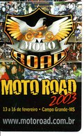 Télécarte Grand Prix Du Brésil 2003 - Moto Road Brésil  Moto Motor Bike Phonecard  (G 722) - Motorbikes
