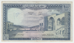 Lebanon 100 Livres 1973 VF Condition Banknote Pick 66b - Lebanon