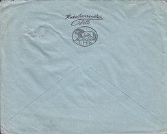 Germany Deutsches Reich Porzellanfabriken LHS LORENZ HUTSCHENREUTHER, SELB I. Bayern 1924 Cover Brief LUZERN Schweiz - Deutschland